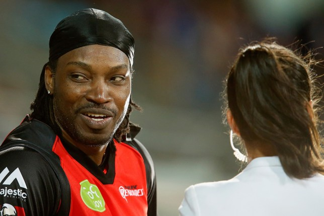 Chris Gayle was fined almost £5,000 for his comments in January (Picture: Getty Images)