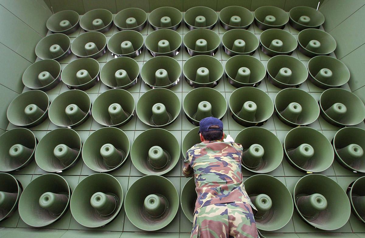 South Korea to blast propaganda speakers again as tensions rise