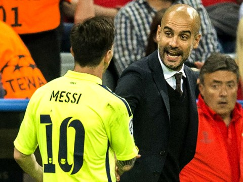 Adidas want Pep Guardiola, Lionel Messi at Manchester United – report
