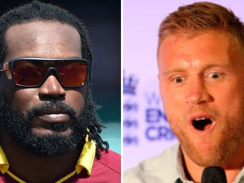 Chris Gayle has Instagram meltdown, raging at Andrew Flintoff and praising Piers Morgan