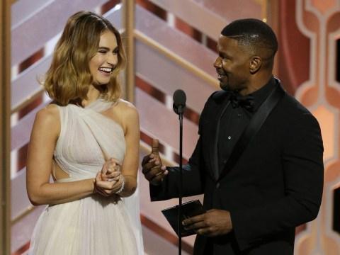 Golden Globes 2016: Jamie Foxx pulled a Steve Harvey while presenting Best Original Score