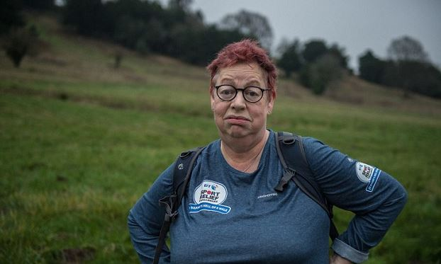 Jo Brand is set to walk 150 miles in ONE WEEK for Sport Relief