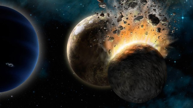 """Planet X: Caltech Researchers Find Evidence of a Real Ninth Planet Caltech Researchers Find Evidence of a Real Ninth Planet Caltech researchers have found evidence of a giant planet tracing a bizarre, highly elongated orbit in the outer solar system. The object, which the researchers have nicknamed Planet Nine, has a mass about 10 times that of Earth and orbits about 20 times farther from the sun on average than does Neptune (which orbits the sun at an average distance of 2.8 billion miles). In fact, it would take this new planet between 10,000 and 20,000 years to make just one full orbit around the sun. The researchers, Konstantin Batygin and Mike Brown, discovered the planet's existence through mathematical modeling and computer simulations but have not yet observed the object directly. """"This would be a real ninth planet,"""" says Brown, the Richard and Barbara Rosenberg Professor of Planetary Astronomy. """"There have only been two true planets discovered since ancient times, and this would be a third. It's a pretty substantial chunk of our solar system that's still out there to be found, which is pretty exciting."""" Brown notes that the putative ninth planet—at 5,000 times the mass of Pluto—is sufficiently large that there should be no debate about whether it is a true planet. Unlike the class of smaller objects now known as dwarf planets, Planet Nine gravitationally dominates its neighborhood of the solar system. In fact, it dominates a region larger than any of the other known planets—a fact that Brown says makes it """"the most planet-y of the planets in the whole solar system."""" Batygin and Brown describe their work in the current issue of the Astronomical Journal and show how Planet Nine helps explain a number of mysterious features of the field of icy objects and debris beyond Neptune known as the Kuiper Belt. - See more at: http://www.caltech.edu/news/caltech-researchers-find-evidence-real-ninth-planet-49523#sthash.0KjnRNW1.dpuf"""