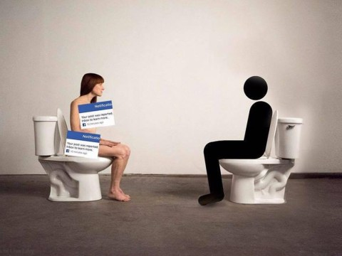Artist to sit naked on a toilet for 2 days to protest against the bullsh*t art world