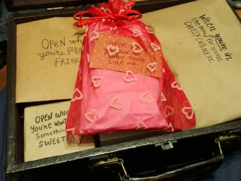 Woman gives the perfect gift to make her long distance relationship a little easier