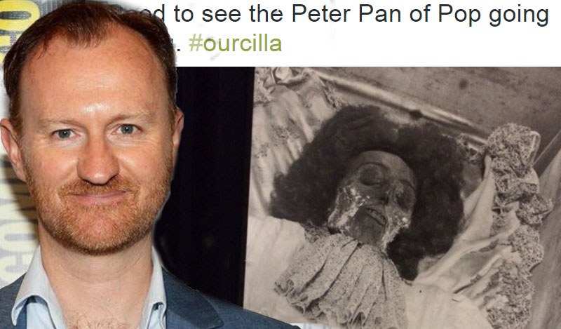 People are getting upset with Sherlock's Mark Gatiss over Cilla Black