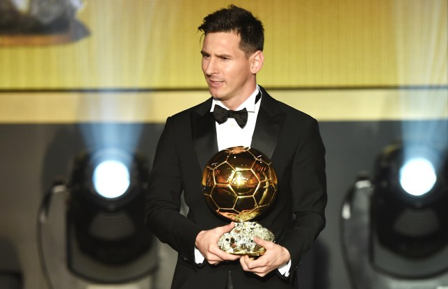 Ballon d'Or Winner: Messi beats Ronaldo and Neymar to win