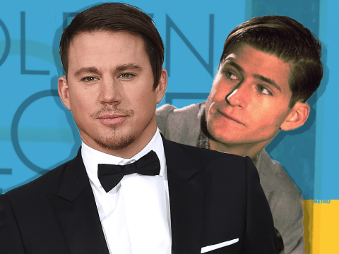 Golden Globes 2016: People think Channing Tatum really looked like Marty McFly's dad