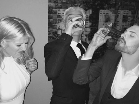 Rylan Clark swears off drinking after partying with Phillip and Holly after the National Television Awards