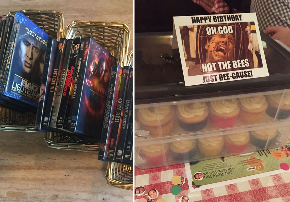 This Nicolas Cage themed birthday party has really raised the bar