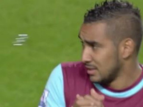 West Ham's Dimitri Payet is scared of the bubbles at Upton Park