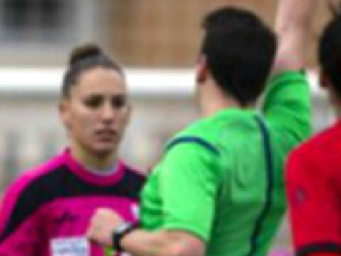 Referee Santiago Quijada Alcon in trouble for asking out Sporting de Huelva player during match