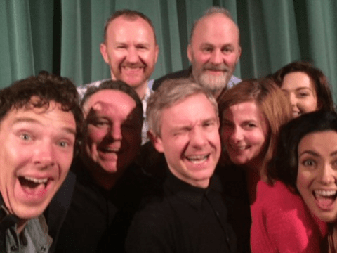 Here's how the cast of Sherlock marked its return with The Abominable Bride…