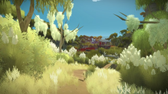 The Witness (PS4) - a pretty place for a puzzle
