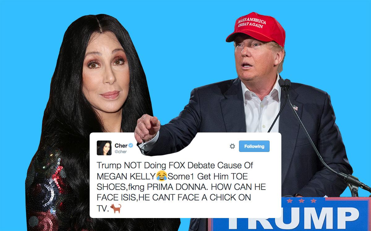Cher Destroys Donald Trump In One Little Tweet