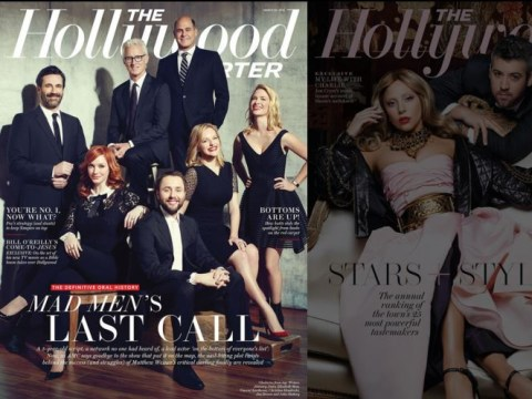 If you think the Oscars are so white, check out The Hollywood Reporter's 2015 covers