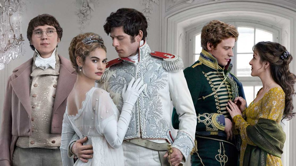 Did the stars of BBC's War And Peace actually read Tolstoy's 1,440-page  classic?   Metro News
