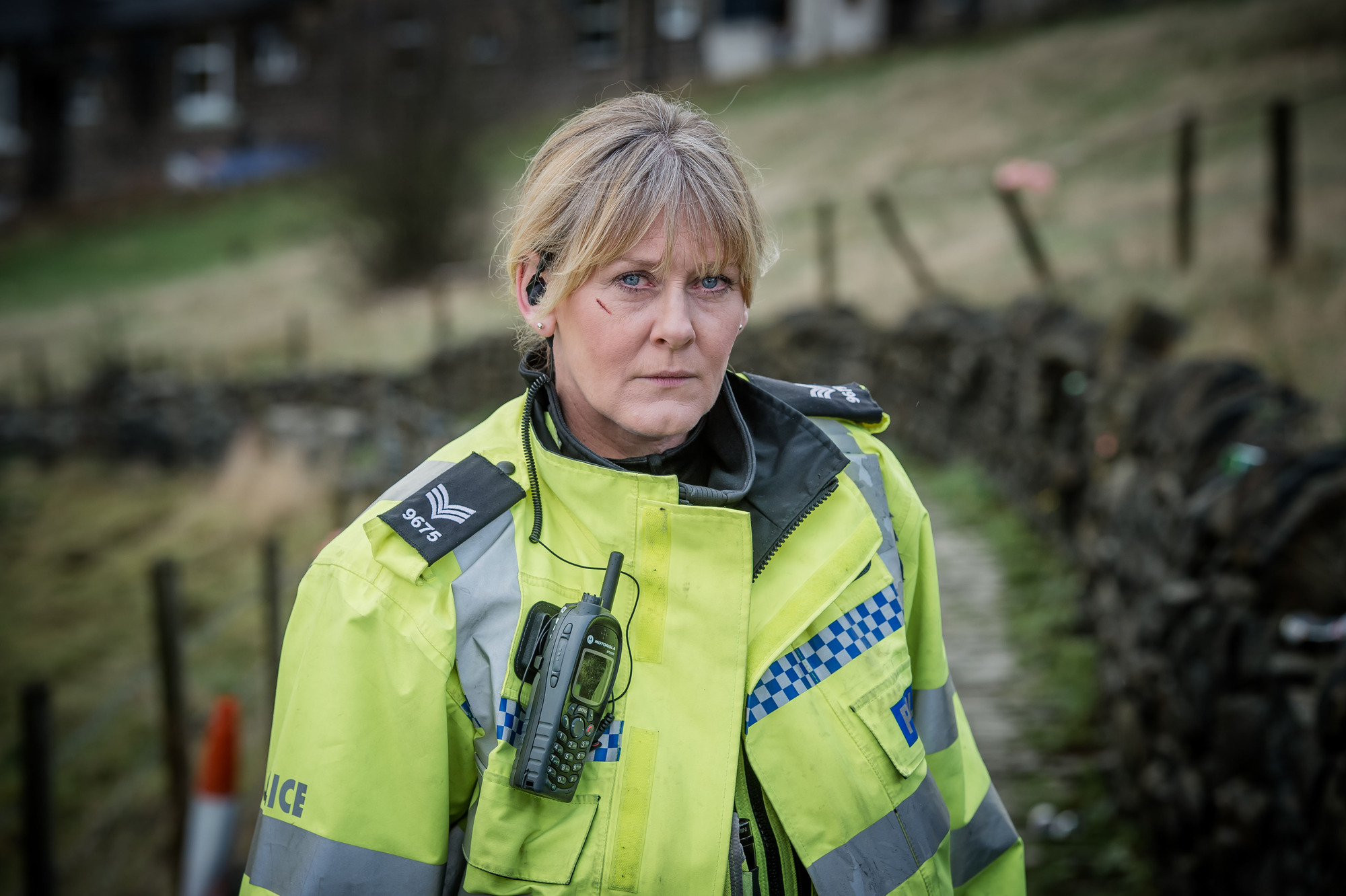 Programme Name: Happy Valley series 2 - TX: n/a - Episode: n/a (No. n/a) - Picture Shows: Catherine (SARAH LANCASHIRE) - (C) Red Productions - Photographer: Ben Blackall