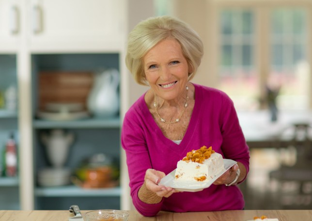Butter wouldn't melt? Mary Berry may have revealed an unexpected bitchy side (Picture: Shine TV)