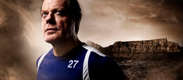 WARNING: Embargoed for publication until 00:00:01 on 15/02/2016 - Programme Name: Sport Relief 2016 - TX: n/a - Episode: n/a (No. n/a) - Picture Shows: Eddie Izzard Marathon Man **EMBARGOED FOR PUBLICATION UNTIL 00:01 HRS ON MONDAY 15TH FEBRUARY 2016** Eddie Izzard - (C) Sport Relief - Photographer: Seamus Ryan