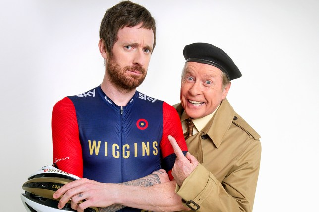 Some Mothers Do 'Ave 'Em - Michael Crawford, Sir Bradley Wiggins - (C) BBC - Photographer: Ray Burmiston