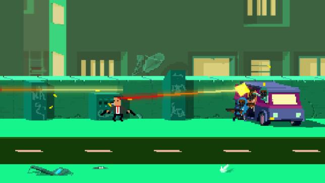 Not A Hero (PS4) - 8-bit violence