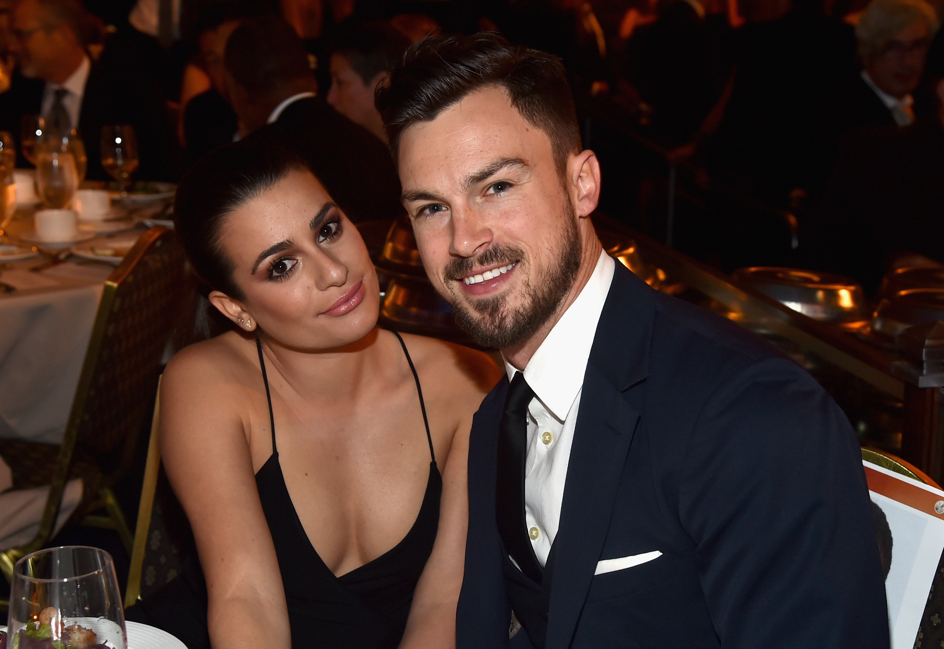 Lea Michele and Matthew Paetz 'split in secret after two years of dating'
