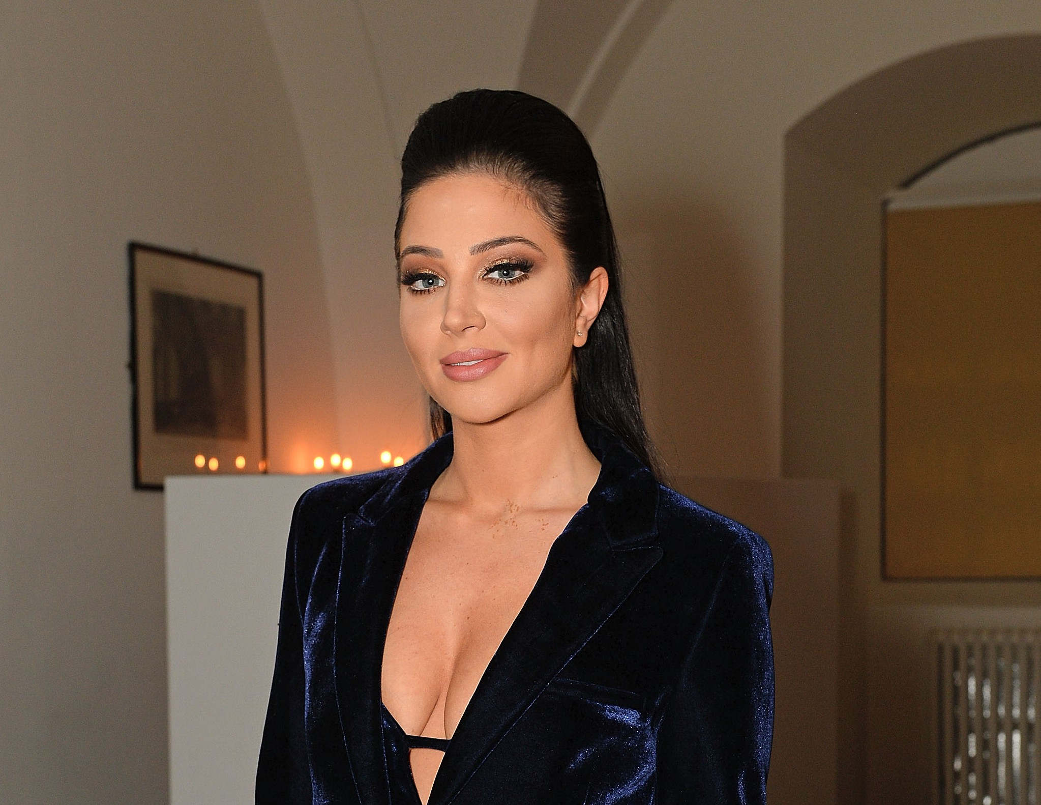 LONDON, ENGLAND - OCTOBER 14: Tulisa Contostavlos attends the Attitude Awards 2015 at Banqueting House on October 14, 2015 in London, England. (Photo by David M. Benett/Dave Benett/Getty Images)