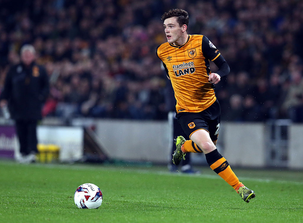 Manchester United eyeing shock move for Hull City defender Andrew Robertson