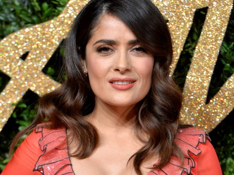 Who is Salma Hayek, what is her age and height and what is her and husband Francois Pinault's net worth?