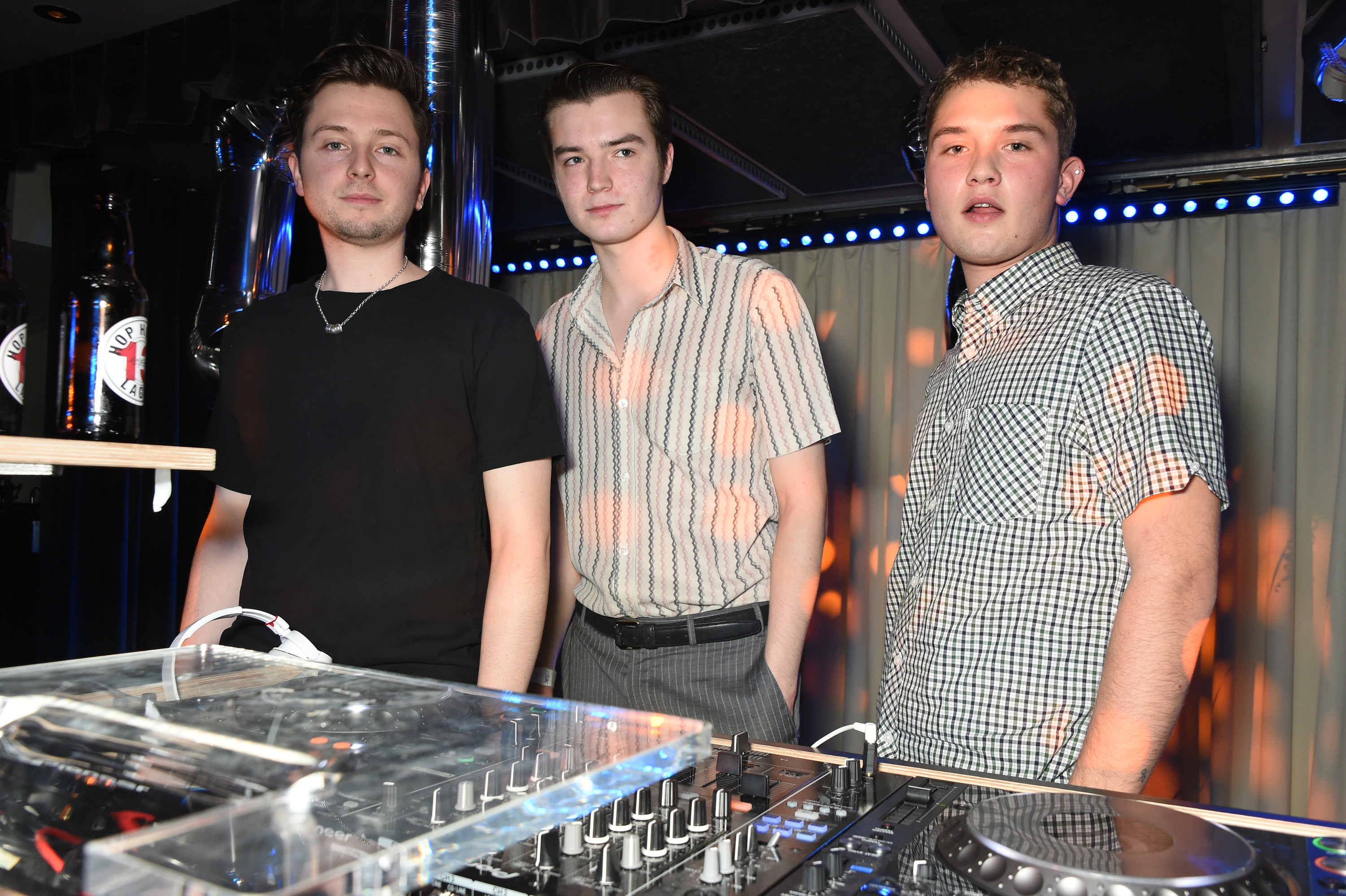 Jude Law's son Rafferty 'needed his mate's help to DJ' at a pre-BAFTA party
