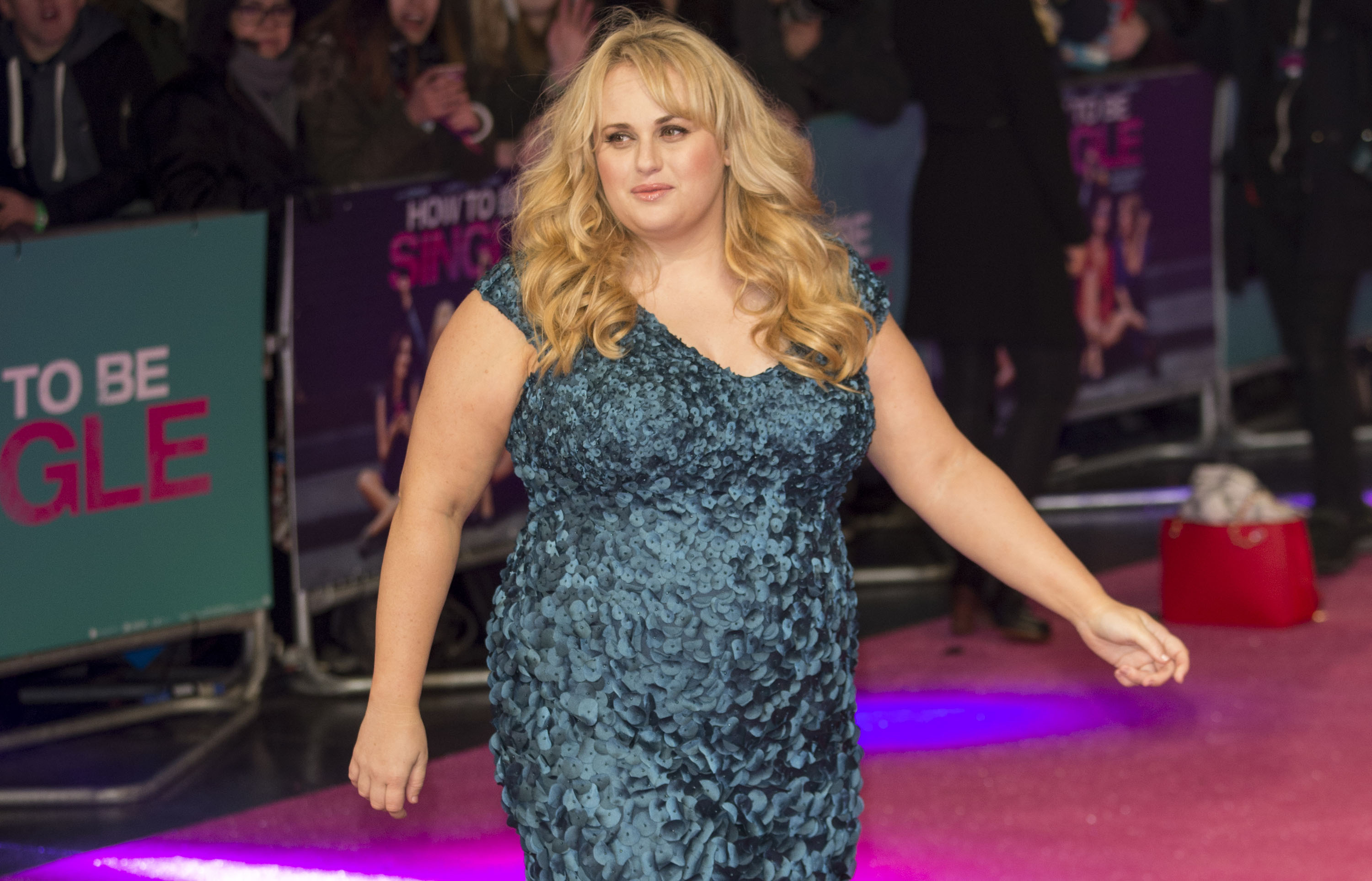 LONDON, ENGLAND - FEBRUARY 09: Rebel Wilson attends the European Premiere of 'How To Be Single' on February 9, 2016 in London, United Kingdom. (Photo by Mark Cuthbert/UK Press via Getty Images)