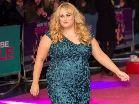 Rebel Wilson almost crushed her ankles at the European premiere of How To Be Single
