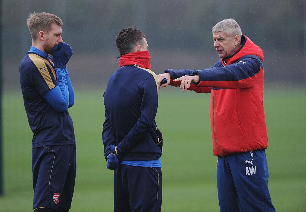 Arsene Wenger made Arsenal players practice high-pressing block for visit of Barcelona