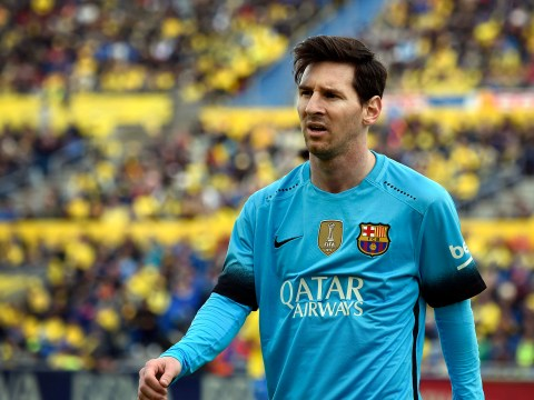 Arsene Wenger hopes Petr Cech's record against Lionel Messi will keep the Barcelona star quiet against Arsenal