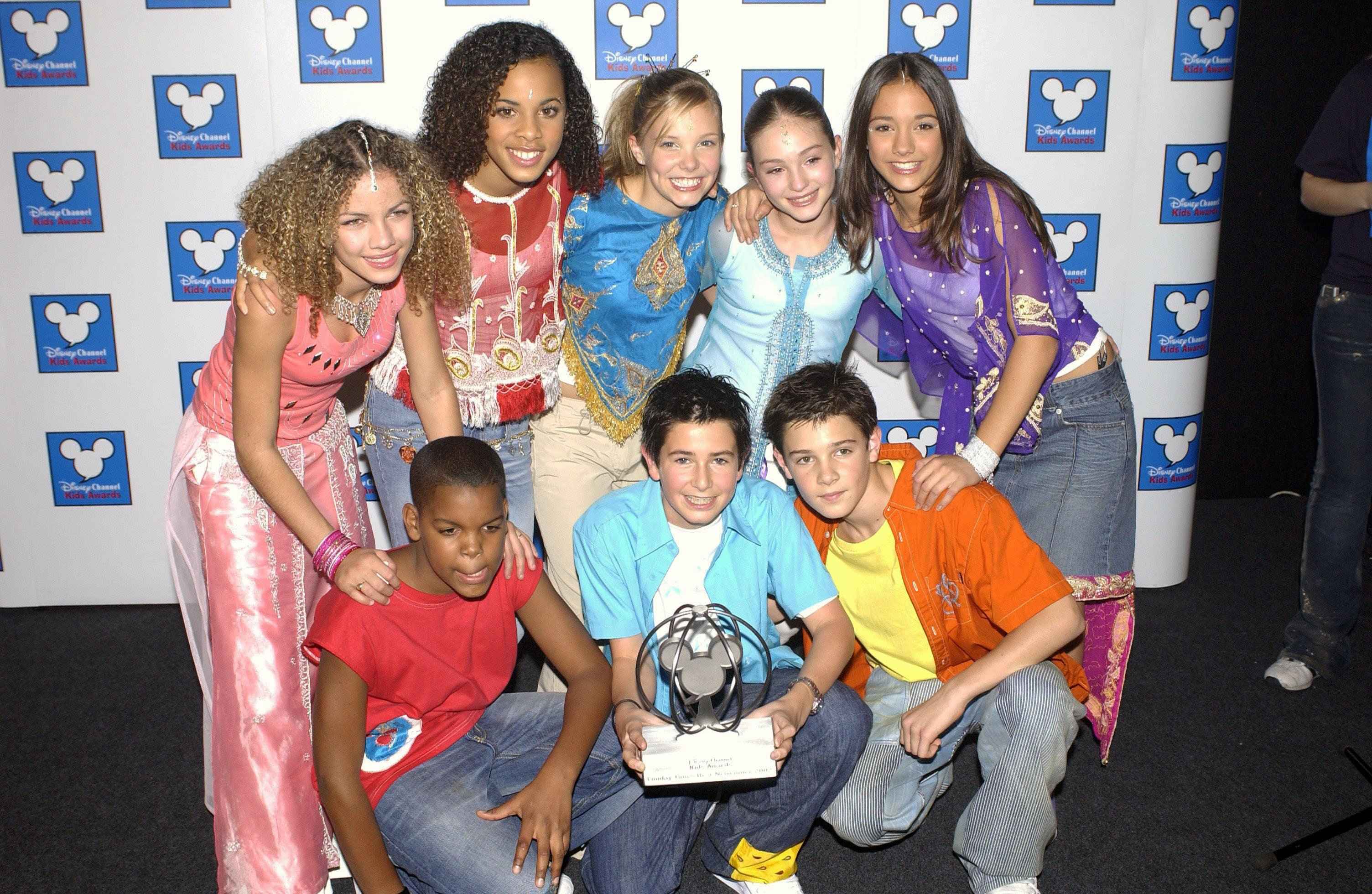 Disney Channel Kids Awards, London Arena, London, Britain - 12 Oct 2002, S Club Juniors - Best Newcomers (Photo by Brian Rasic/Getty Images)