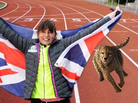 Davina McCall claims she beat a cheetah – the world's fastest land animal – in a race