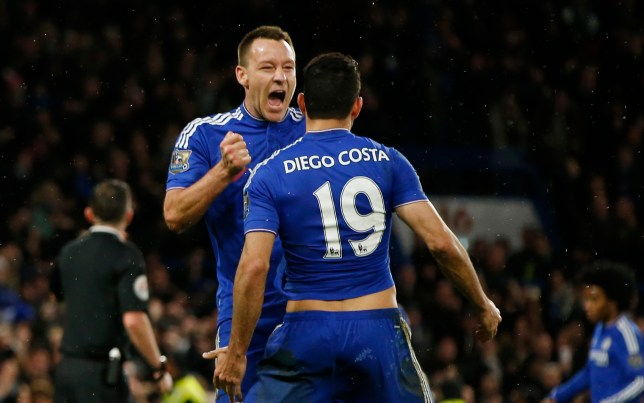 John Terry loves Chelsea (Picture: AFP)