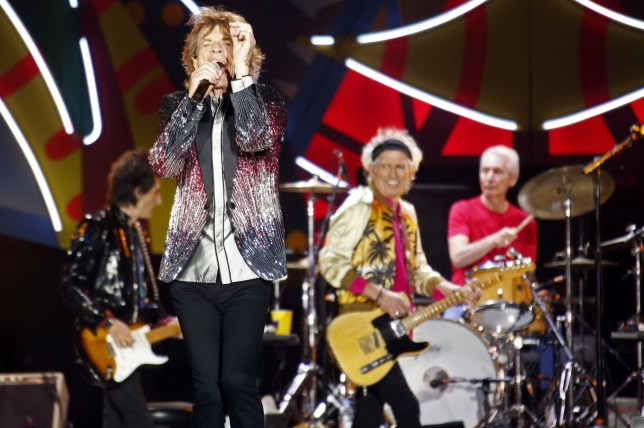 Mandatory Credit: Photo by Agencia EFE/REX/Shutterstock (5580554c) Mick Jagger - The Rolling Stones The Rolling Stones in concert at the National Stadium, Santiago, Chile - 03 Feb 2016