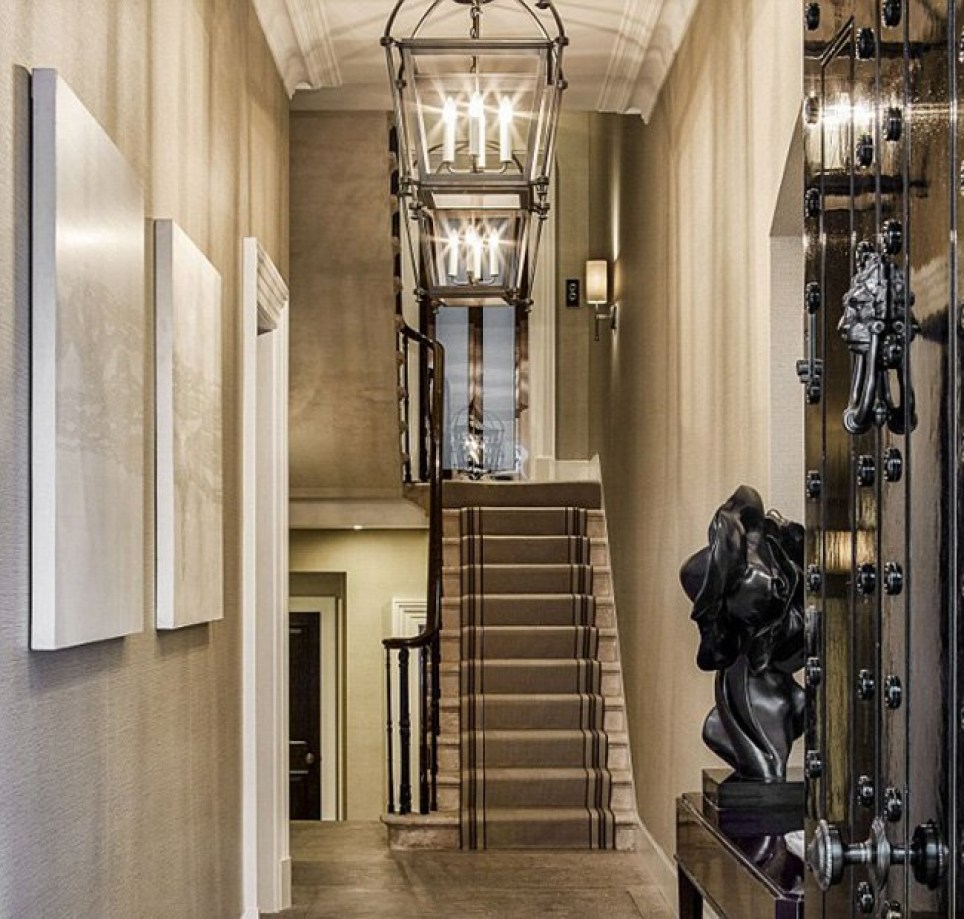Behind the bullet-proof door: Margaret Thatcher's home is for sale Credit: Savills. Link: http://www.leconfieldpg.com/index.php