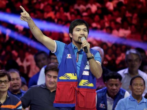 Manny Pacquiao calls gay couples 'worse than animals'