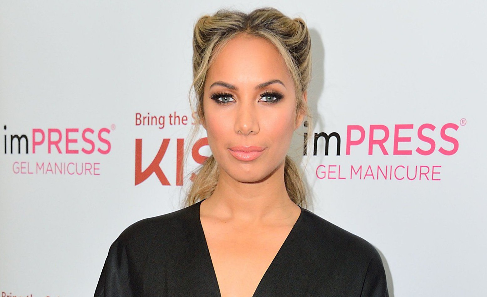 Leona Lewis is brand ambassador for ethical lashes and nails by KISS (Photo by Ray Tang/LNP/REX/Shutterstock)