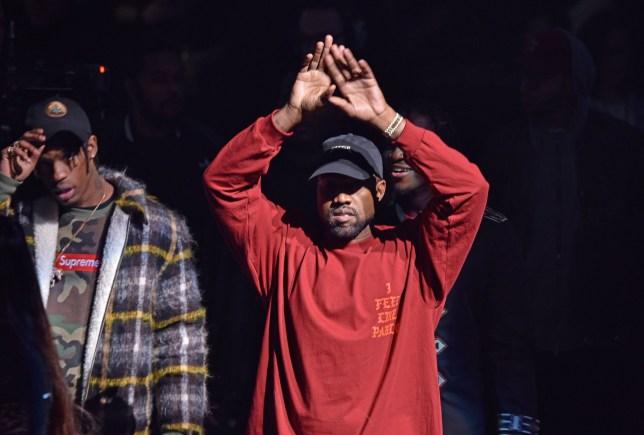 Mandatory Credit: Photo by Andrew H. Walker/WWD/REX/Shutterstock (5585909y) Kanye West Yeezy show, Runway, Fall Winter 2016, New York Fashion Week, America - 11 Feb 2016