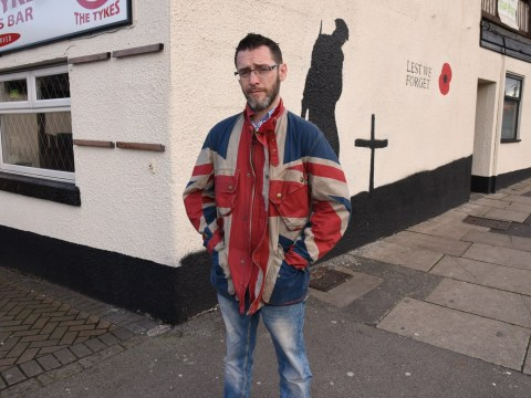 Man claims officials told him not to wear this jacket in case it offended someone