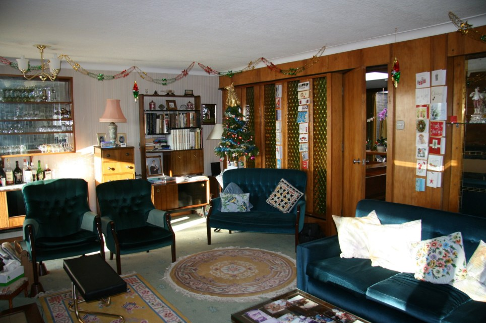 surprising 1960s sitcom living room | Unchanged 1960s house in Boscobel Road in Great Barr ...