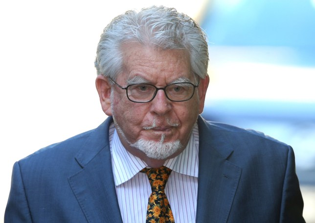 LONDON, ENGLAND - MAY 14: Artist and television personality Rolf Harris arrives at Southwark Crown Court on May 14, 2014 in London, England. Mr Harris, who was arrested in March 2013 by police officers working for Operation Yewtree, denies 12 charges of indecent assault against four girls. (Photo by Peter Macdiarmid/Getty Images)
