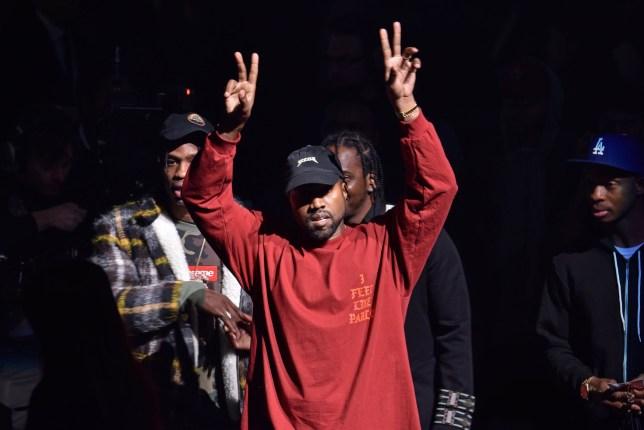 Mandatory Credit: Photo by Andrew H. Walker/WWD/REX/Shutterstock (5585909x) Kanye West Yeezy show, Runway, Fall Winter 2016, New York Fashion Week, America - 11 Feb 2016