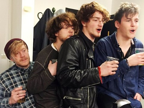 Tragic band Viola Beach enters UK Top 40 and heads for top three thanks to fan campaign