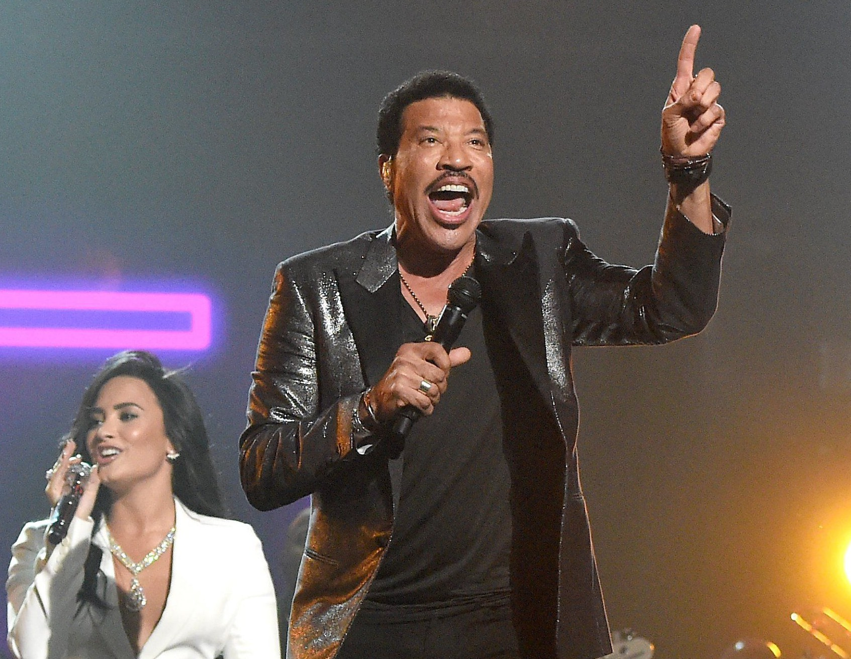 The Grammys 2016: Lionel Richie was absolutely loving Demi Lovato's tribute