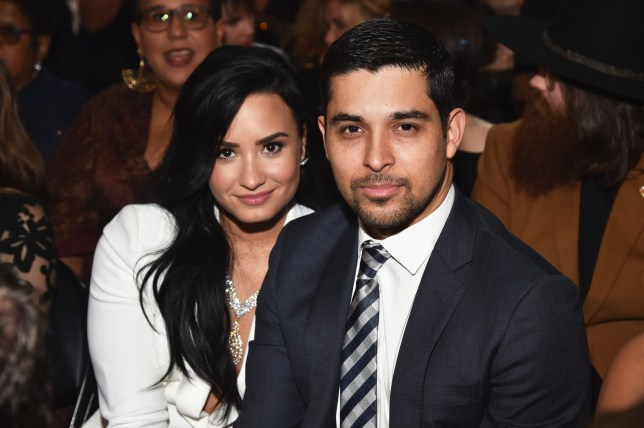 LOS ANGELES, CA - FEBRUARY 15: Singer Demi Lovato (L) and actor Wilmer Valderrama attend The 58th GRAMMY Awards at Staples Center on February 15, 2016 in Los Angeles, California. (Photo by Lester Cohen/WireImage)
